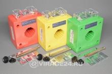Трансформатор тока измерительный ТТН 30Т/100/5-5VA/0.5 (3шт, цветные), TDM