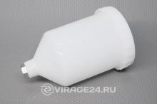 Бак 600мл пластиковый для краскораспылителя H-827 7475, PARTNER