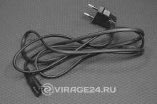 Шнур сетевой (угловая вилка) 2*0,75 мм 1,5М, REXANT